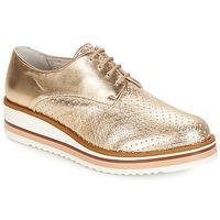 鞋子 女士 德比 André FLORIANE 金色