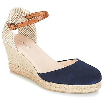 鞋子 女士 帆布便鞋 André HABILE 海藍色