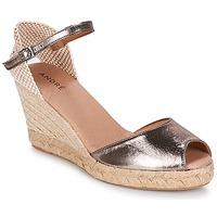 鞋子 女士 帆布便鞋 André CADIX 金色