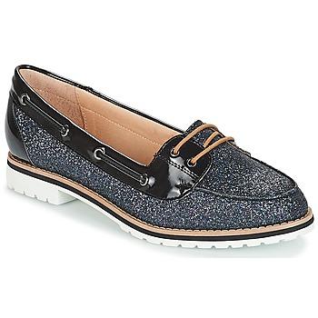 鞋子 女士 皮便鞋 André JAY 黑色