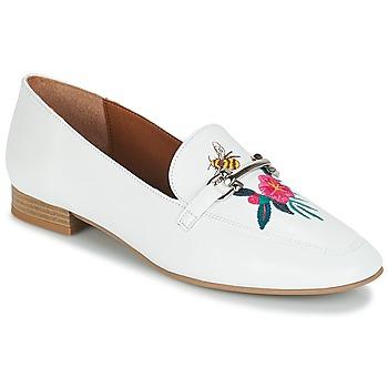 鞋子 女士 皮便鞋 André HENSON 白色