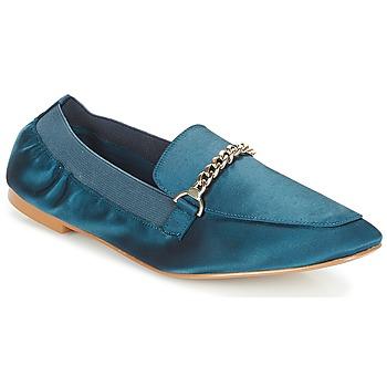 鞋子 女士 皮便鞋 André AMULETTE 蓝色