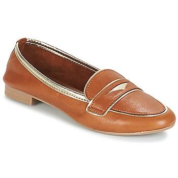 鞋子 女士 皮便鞋 André CLOCHETTE 驼色