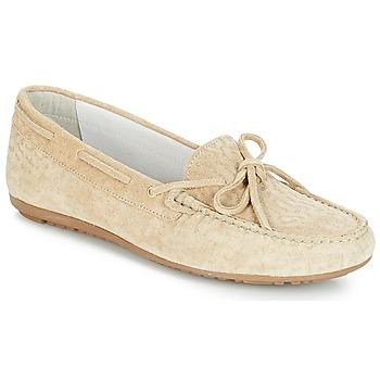 鞋子 女士 皮便鞋 André FRIDA 米色