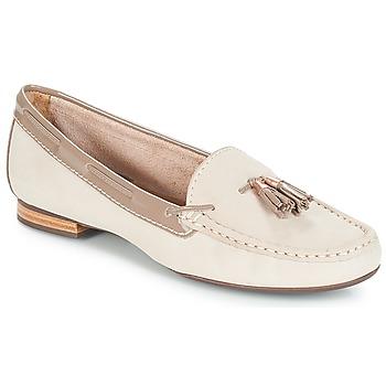 鞋子 女士 皮便鞋 André DANY 米色