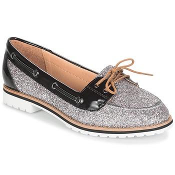 鞋子 女士 船鞋 André JAY 銀色