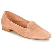 鞋子 女士 皮便鞋 André NAMOURS 玫瑰色