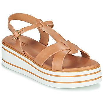 鞋子 女士 凉鞋 André LUANA 驼色