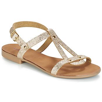 鞋子 女士 凉鞋 André TOUFOU 金色