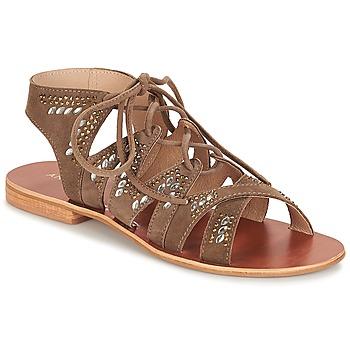 鞋子 女士 凉鞋 André MAUPITI 棕色