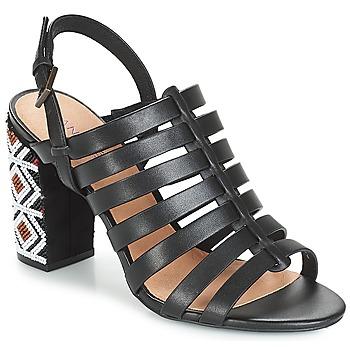 鞋子 女士 凉鞋 André DJEMBE 黑色