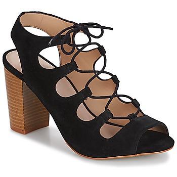 鞋子 女士 凉鞋 André LAETITIA 黑色