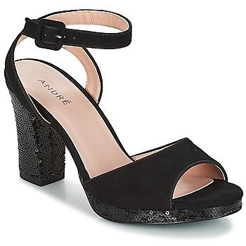 鞋子 女士 凉鞋 André FESTIVE 黑色