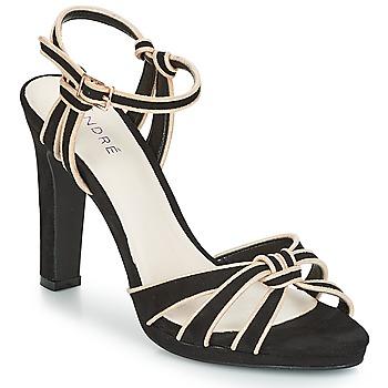 鞋子 女士 涼鞋 André ARPEGE 黑色