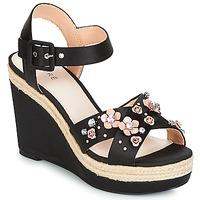 鞋子 女士 凉鞋 André IXIA 黑色