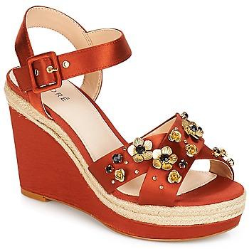 鞋子 女士 凉鞋 André IXIA 驼色