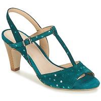 鞋子 女士 凉鞋 André BETY 松石绿