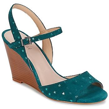 鞋子 女士 凉鞋 André BECKY 松石绿
