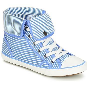 鞋子 女士 高帮鞋 André GIROFLE 白色 / 蓝色