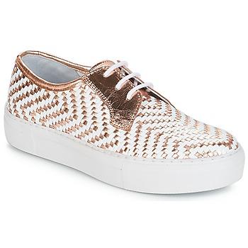 鞋子 女士 球鞋基本款 André NAT 金色