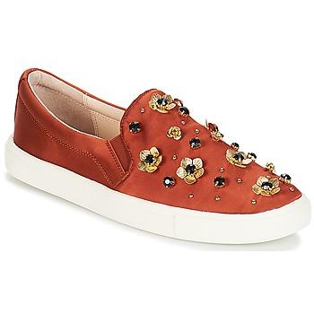 鞋子 女士 平底鞋 André FRESIA 棕色 / 橙色