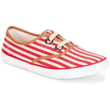 鞋子 女士 球鞋基本款 André MELON 红色