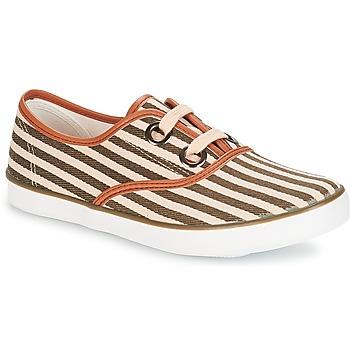 鞋子 女士 球鞋基本款 André MELON 卡其色