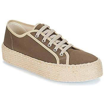 鞋子 女士 球鞋基本款 André LODGE 卡其色
