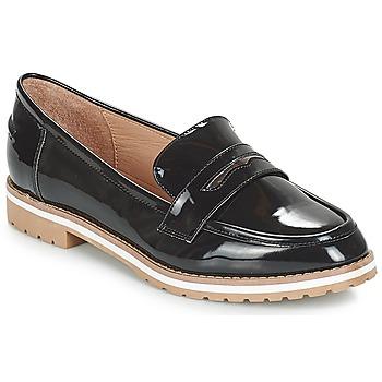 鞋子 女士 皮便鞋 André PORTLAND 黑色