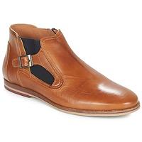 鞋子 男士 短筒靴 André GAMIN 棕色