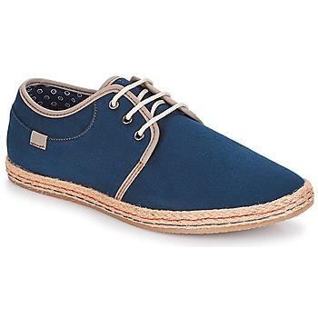 鞋子 男士 帆布便鞋 André GARDA 海藍色