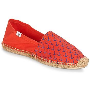 鞋子 男士 帆布便鞋 André OHE MATELOT 红色