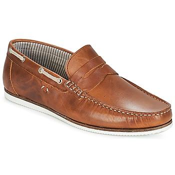 鞋子 男士 船鞋 André FREGATE 棕色