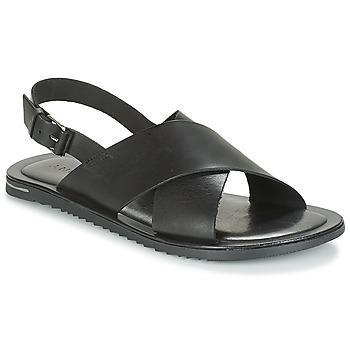 鞋子 男士 凉鞋 André SILVIO 黑色