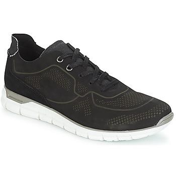鞋子 男士 球鞋基本款 André GUIDO 黑色