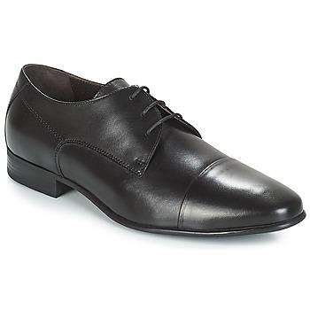 鞋子 男士 德比 André MORGANI 黑色