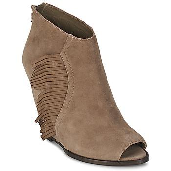 鞋子 女士 短靴 Ash 艾熙 LYNX 灰褐色