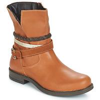 鞋子 女孩 短筒靴 Citrouille et Compagnie FURAMO 驼色