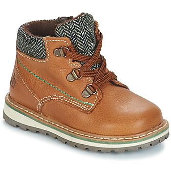 鞋子 男孩 短筒靴 Citrouille et Compagnie JOBA 棕色