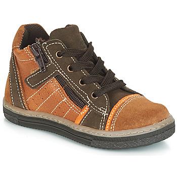 鞋子 男孩 高帮鞋 Citrouille et Compagnie JESSICA 驼色