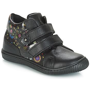 鞋子 女孩 球鞋基本款 Citrouille et Compagnie JUPETTE 黑色 / 花
