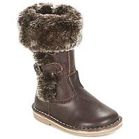 鞋子 女孩 都市靴 Citrouille et Compagnie JOSY 棕色