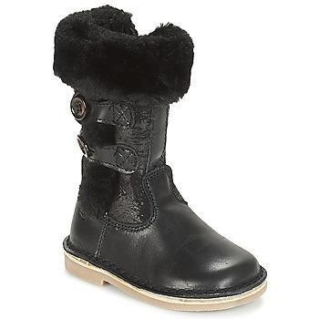 鞋子 女孩 都市靴 Citrouille et Compagnie JOSY 黑色