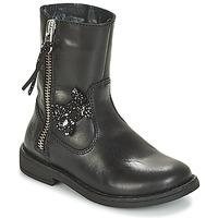 鞋子 女孩 短筒靴 Citrouille et Compagnie JARINDA 黑色