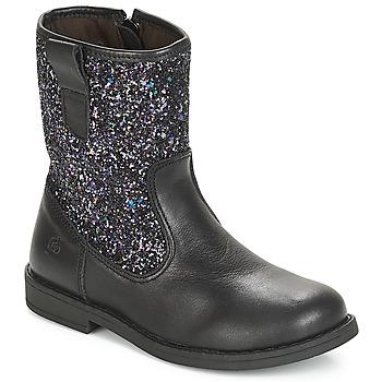 鞋子 儿童 短筒靴 Citrouille et Compagnie JUCKER 黑色