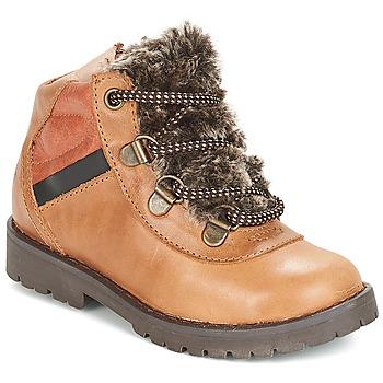 鞋子 男孩 短筒靴 Citrouille et Compagnie JODILAEM 棕色