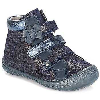 鞋子 女孩 短筒靴 Citrouille et Compagnie JODIL 蓝色