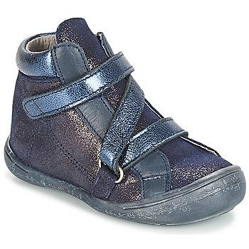 鞋子 女孩 短筒靴 Citrouille et Compagnie JISSOU 蓝色