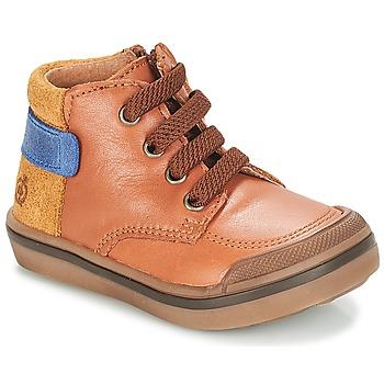 鞋子 男孩 短筒靴 Citrouille et Compagnie JOUIZAE 驼色 / 黄色