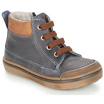 鞋子 男孩 短筒靴 Citrouille et Compagnie JIK 蓝色